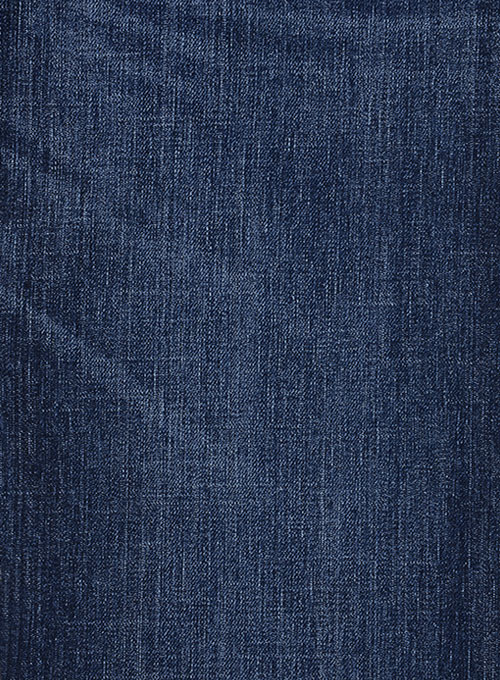 Slight Stretch Indigo Wash Whisker Jeans