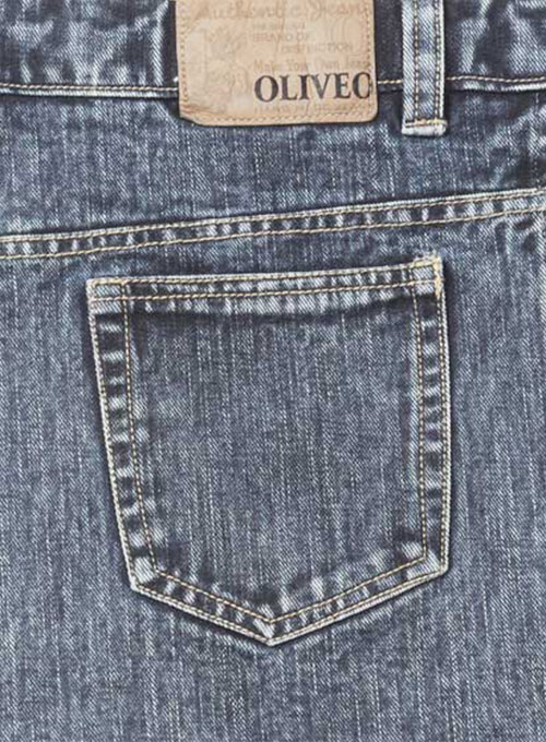 Slyvester Blue Jeans - Blast Washed