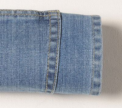 Soft Rocker Stretch Jeans - Light Blue