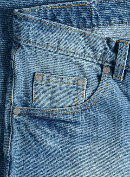 Sterling Blue Stone Wash Whisker Jeans