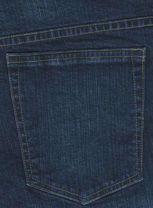 Classic 12oz Scrape Wash Denim Jeans - Stretch