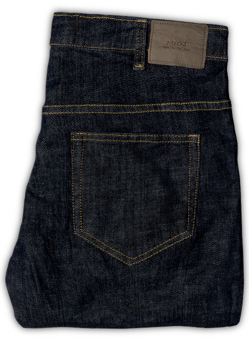 1% Stretch Custom Jeans With Fit Guarantee