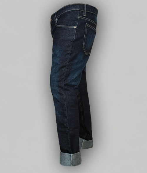 Strike Denim Jeans - Hard Wash Scrape