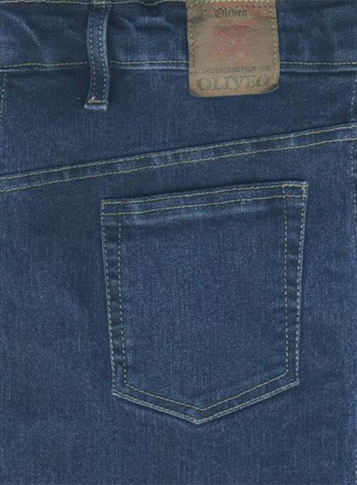 Super Stretch Classic Blue Jeans - Denim X