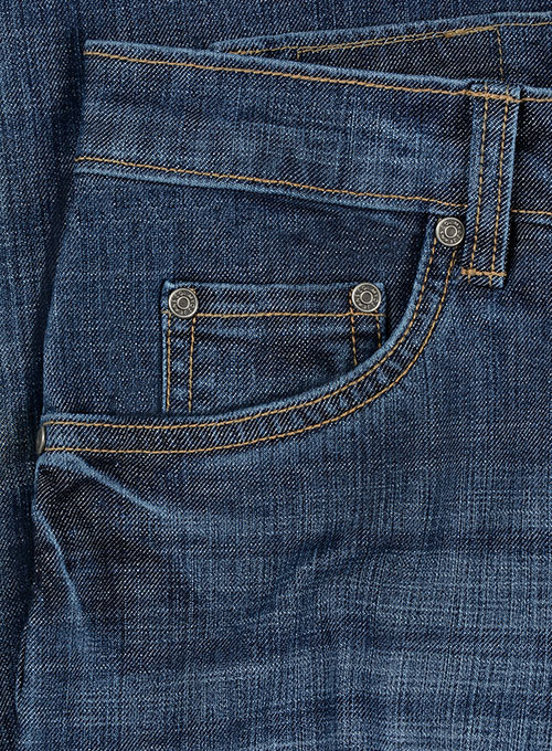 Texas Blue Stretch Indigo Wash Whisker Jeans