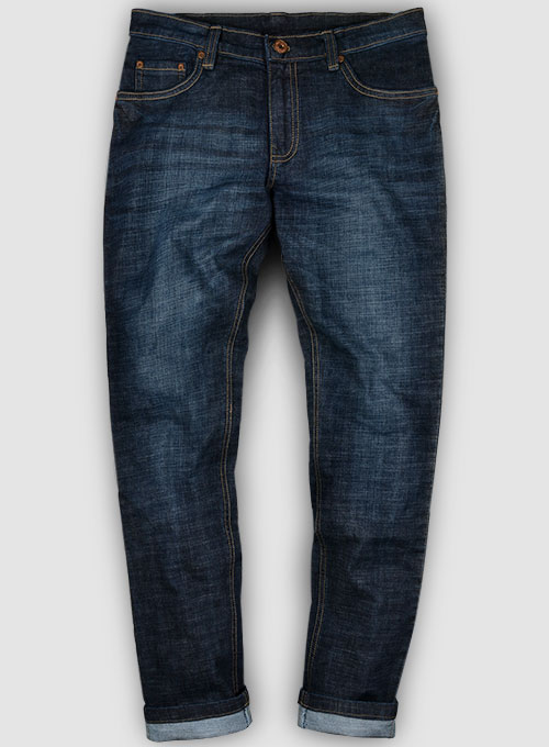 Texas Blue Stretch Hard Wash Whisker Jeans