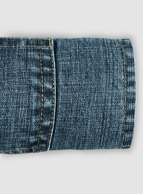 Texas Blue Stretch Jeans - Blast Wash - Click Image to Close