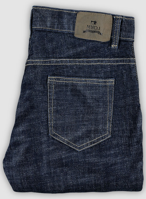 Texas Blue Stretch Jeans - Hard Wash - Click Image to Close