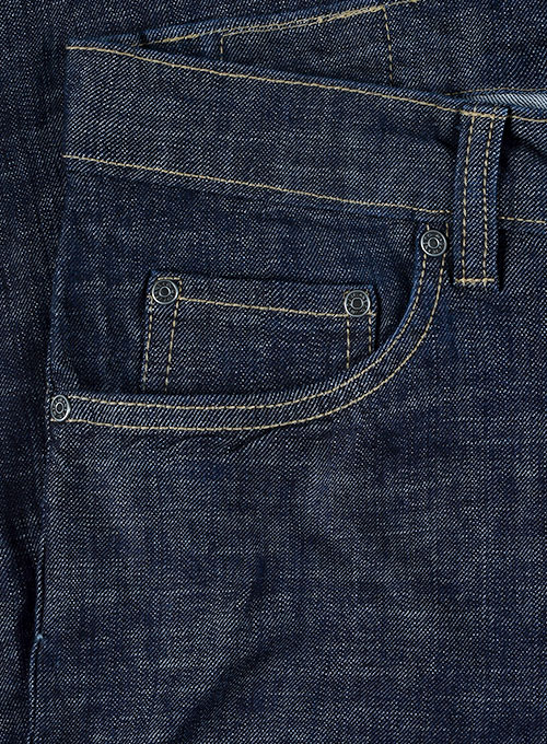 Texas Blue Stretch Jeans - Hard Wash