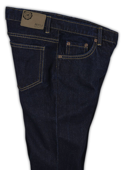 The Blue Hard Wash Jeans - Click Image to Close