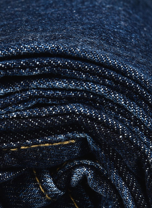 The Blue Indigo Wash Whisker Jeans - Click Image to Close