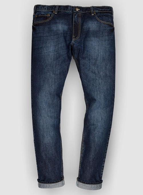 Thunder Blue Jeans Indigo Wash Makeyourownjeans 174 Made