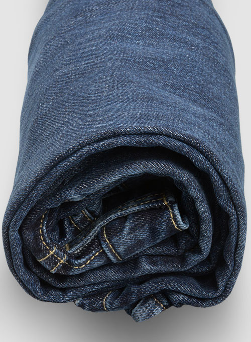 Thunder Blue Jeans - Stone Wash - Click Image to Close