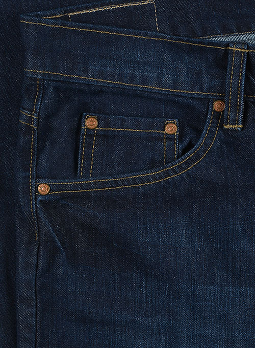Thunder Blue Hard Wash Whisker Jeans