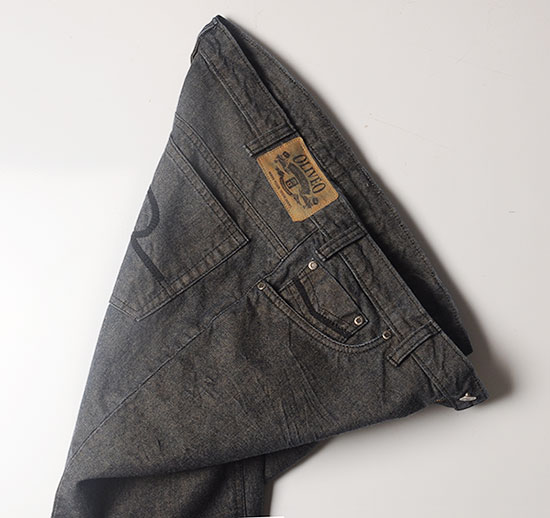 Tinted Hard Washed Denim Jeans - Look #998