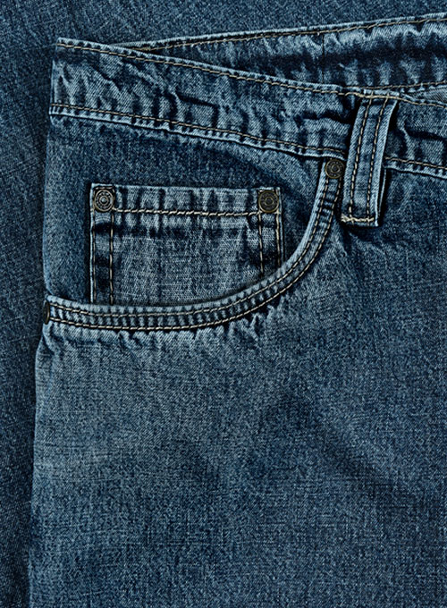 Travellers Blue Blast Wash Jeans - Click Image to Close