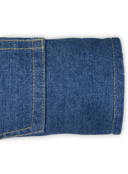 Tremor Blue Hard Wash Jeans - Click Image to Close