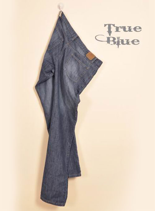 True Blue Jeans - Scrape Washed