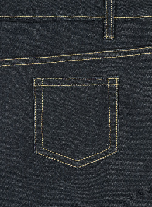 Victor Blue Hard Wash Stretch Jeans