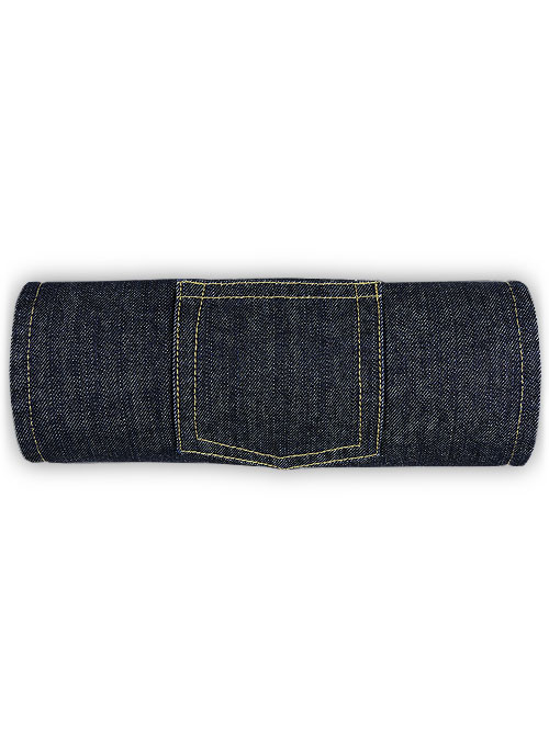 Wallace Blue Jeans - Hard Wash - Click Image to Close