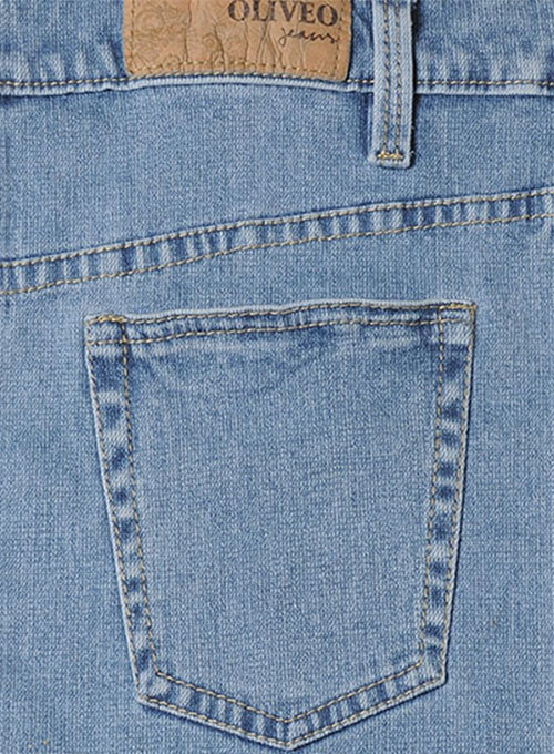 Body Wrapper Stretch Light Blue Jeans