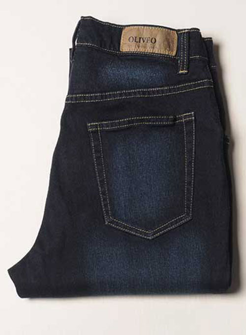 Body Wrapper Stretch Scraped Jeans