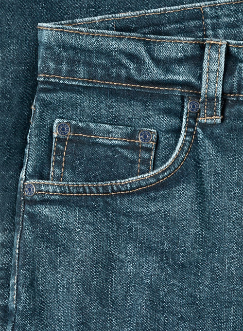 Zen Blue Blast Wash Stretch Jeans