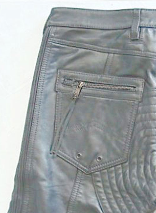 Leather  Biker Jeans - Style #505- 50 Colors