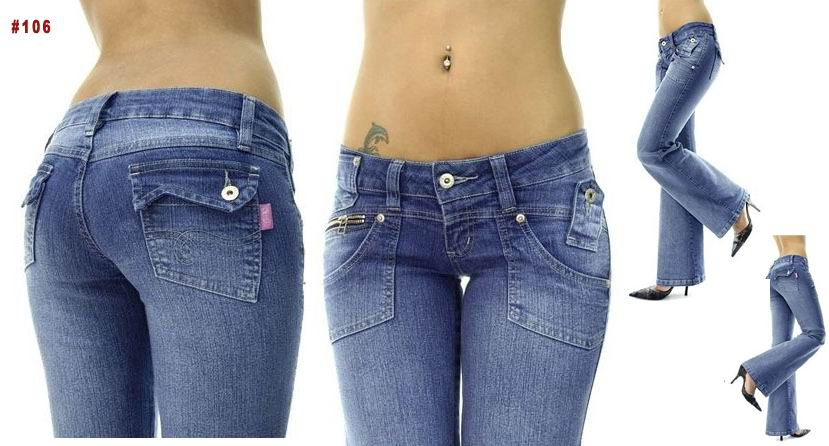 Brazilian Style Jeans - #106 : MakeYourOwnJeans®: Made To Measure ...