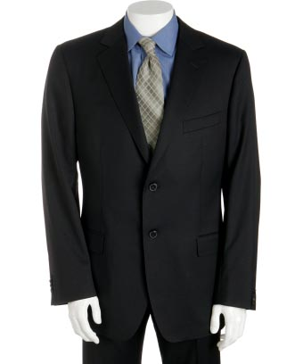 Black Merino Wool Jacket