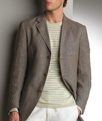 Linen Jacket - 6 Colors