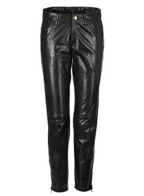 Leather Biker Jeans - Style #500