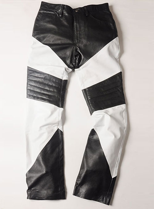Zod Mix Leather Pants