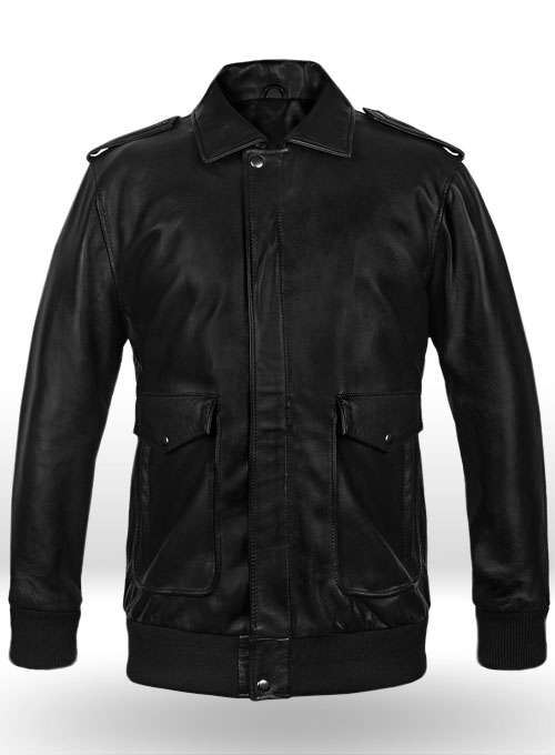 A2 Flight Bomber Leather Jacket