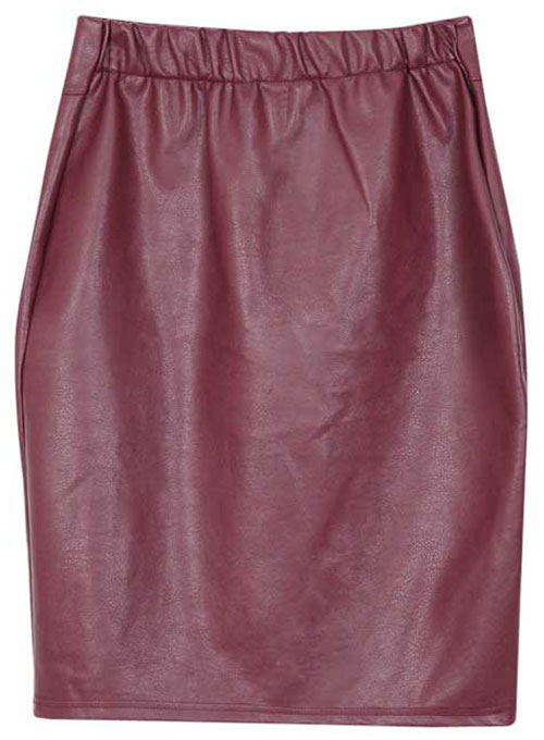 Ambrosia Leather Skirt - # 413