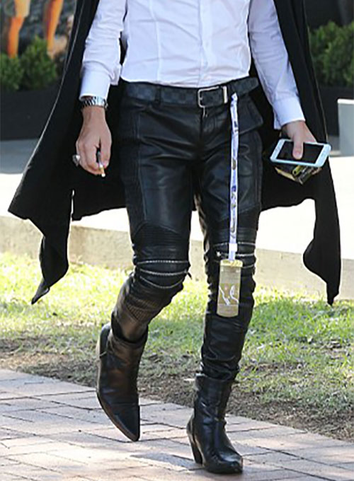 Anthony Callea Leather Pants