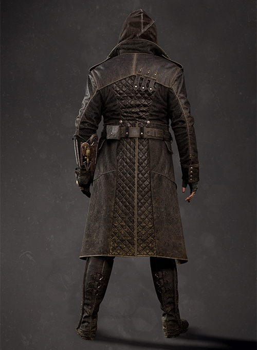 Assassin's Creed Jacob Frye Leather Long Coat - Click Image to Close