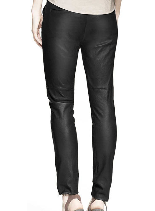 Athens Leather Biker Pants