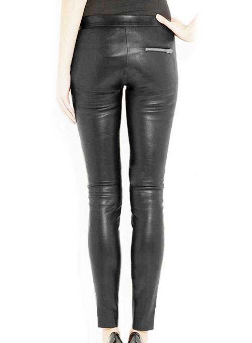 Azar Leather Biker Jeans - 50 Colors