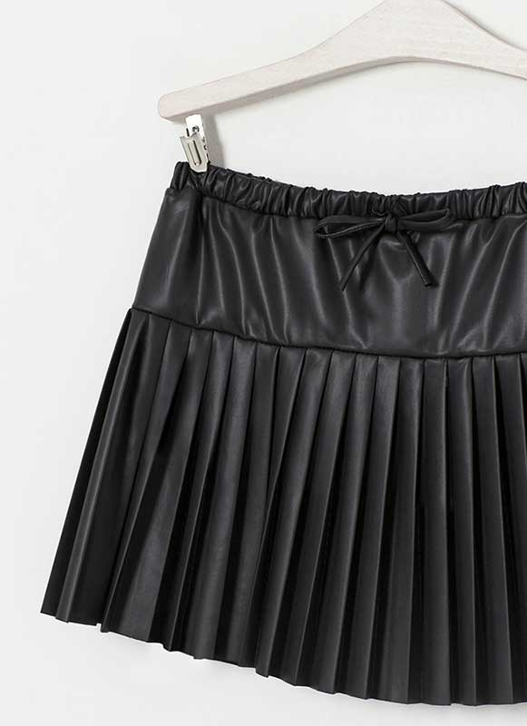 Baby Doll Flare Leather Skirt - # 444 - 50 Colors