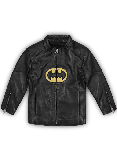 Lego Batman Kids Leather Jacket