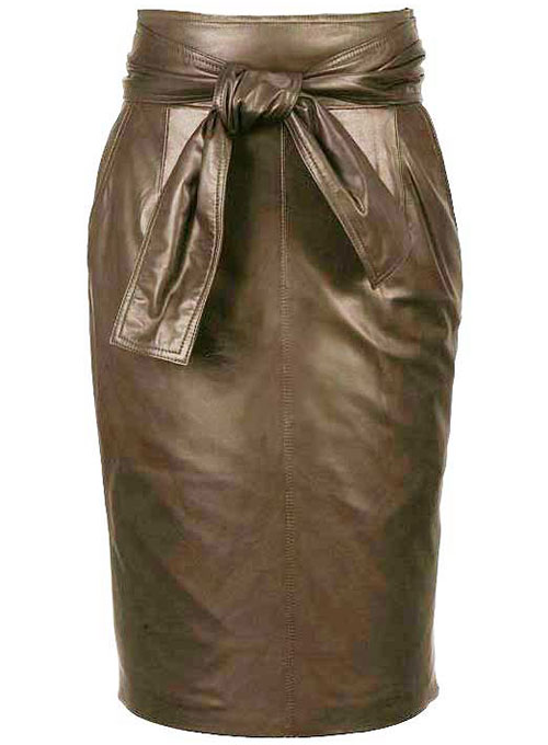 Bonded Leather Skirt - # 436 - 50 Colors