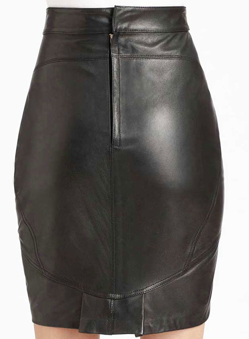 Canarie Leather Skirt - # 442 - 50 Colors