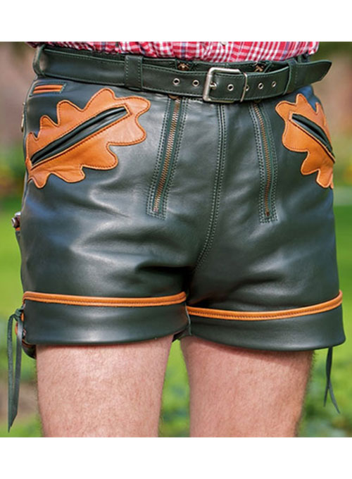 Leather Cargo Shorts Style # 364 - 35 Colors