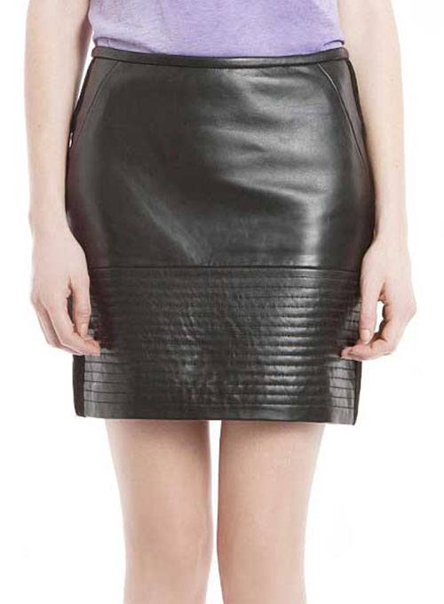 Carven Leather Skirt - # 403 - 50 Colors