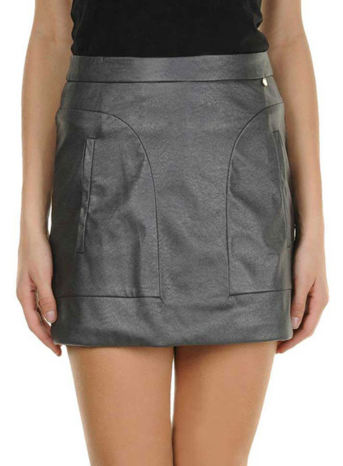 Charlene Leather Skirt - # 193 - 50 Colors