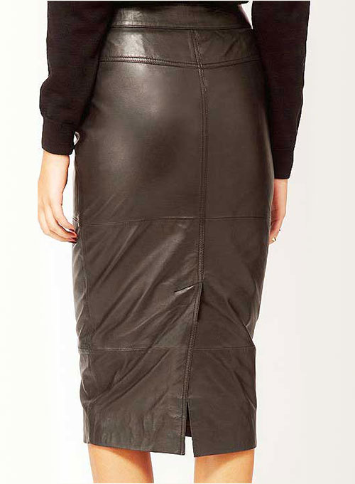 Claremont Leather Skirt - # 417