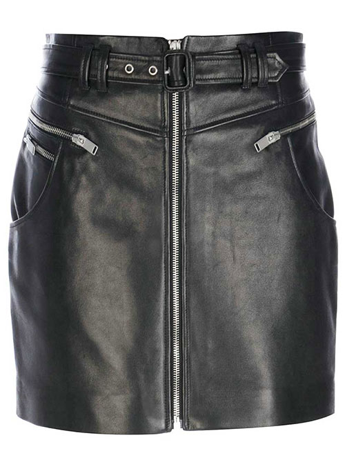 Cowgirl Leather Skirt - # 198
