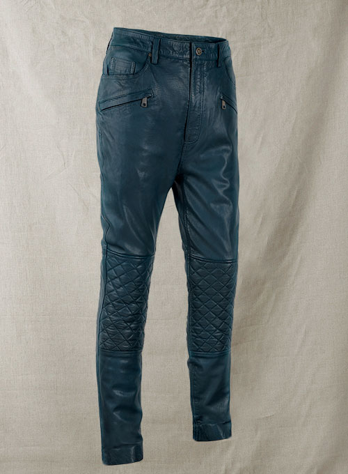 Deep Quest Leather Pants