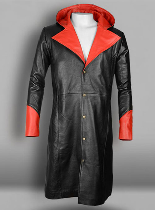 Devil May Cry 5 Dante Leather Coat - Click Image to Close